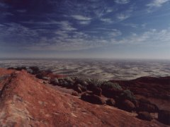 Ayers Rock, view to the north